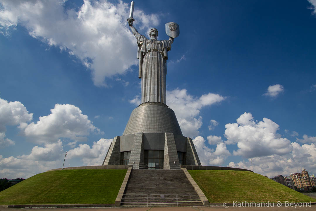 The Motherland Monument Museum of The History of Ukraine in World War II Memorial Complex Kiev Ukraine-4