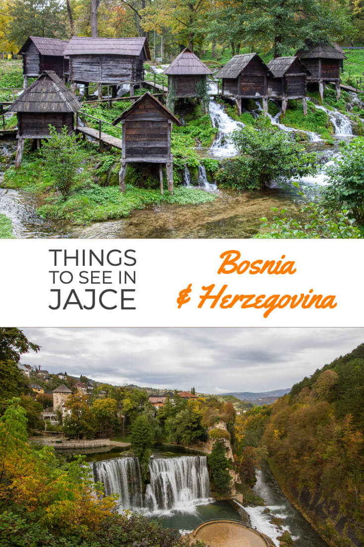 Things to see in Jajce, Bosnia and Herzegovina #travel #travelguide #traveltips #balkans