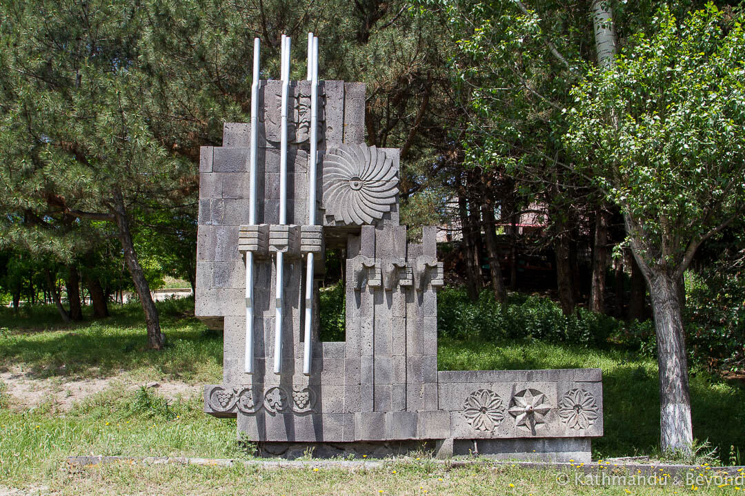 Monument to the Great Patriotic War (World War II Memorial) Gyumri Armenia