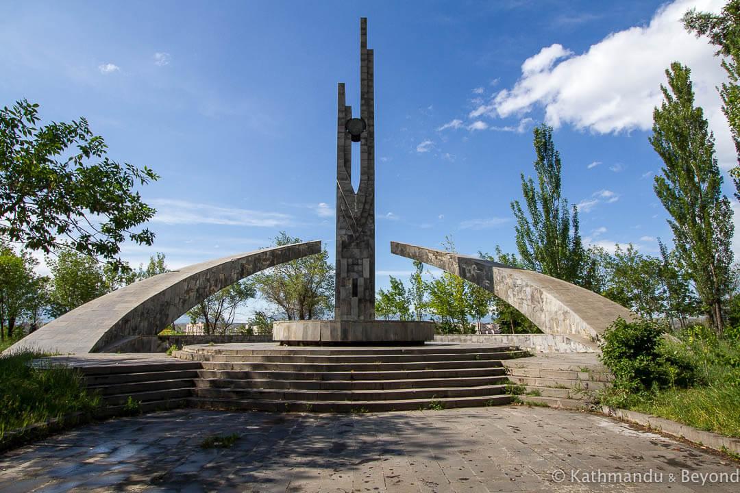 Nor Arabkir Memorial Complex Yerevan Armenia