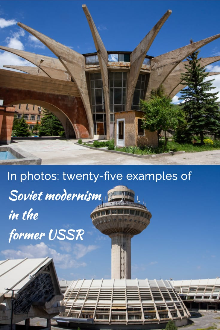 In photos - twenty-five examples of Soviet modernism in the former USSR #architecture #travel #soviet #photoessay #armenia
