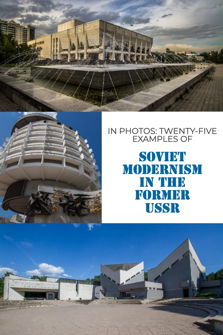 In photos - twenty-five examples of Soviet modernism in the former USSR #architecture #travel #soviet #photoessay