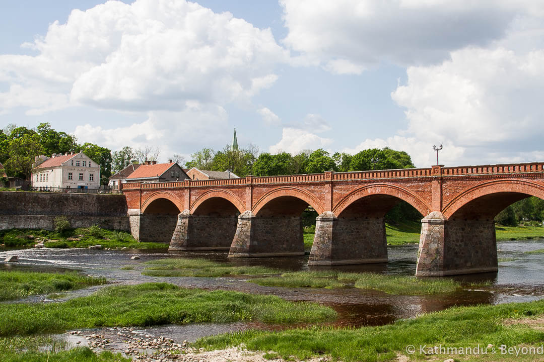 Kuldiga Brick Bridge Kuldiga Latvia