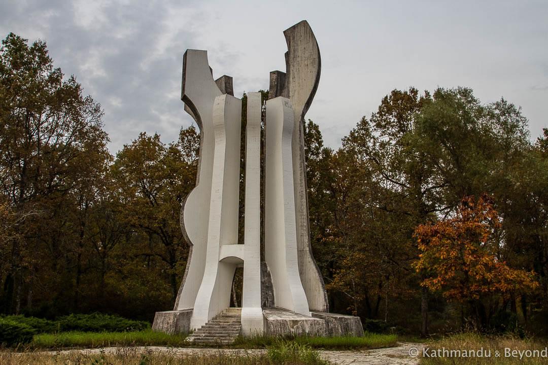 Monument to the Detachment in Brezovica Forest (Brezovica Spomen-Park) Sisak Croatia-3