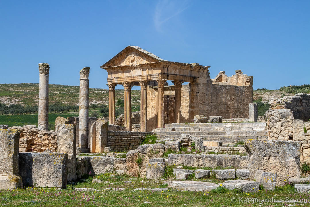 The Capitol Dougga Tunisia-7