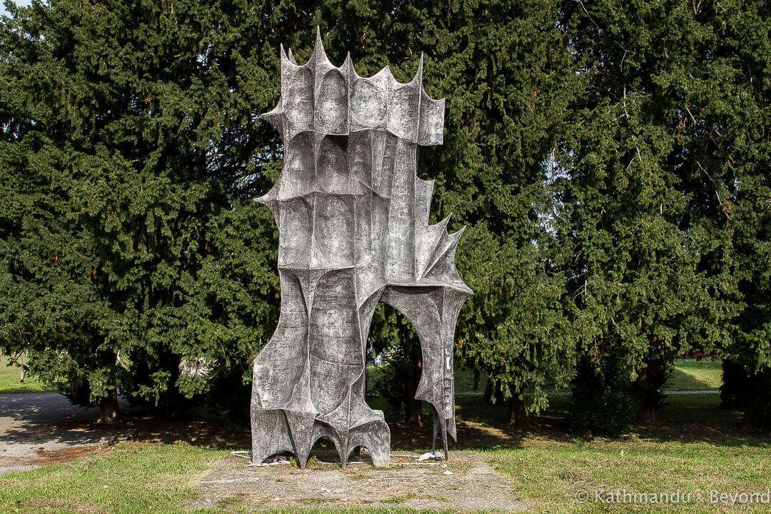 Monument to the December Victims of 1943 Dotrscina Memorial Park Zagreb Croatia-2