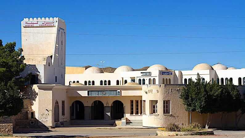 Abandoned Tunisia - former Hotel Kousseila in Matmata