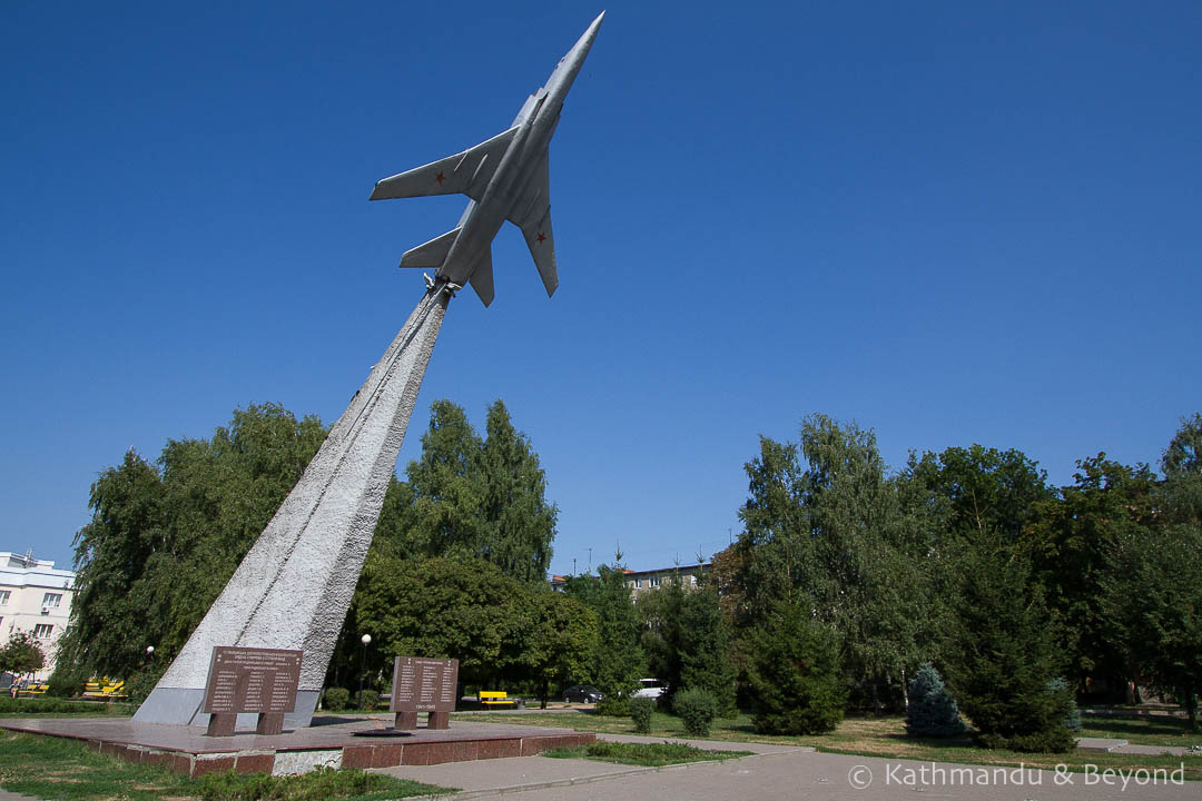 "Memorial for Honour of Heroes (Monument ""Escape of Hell"") Poltava Ukraine-2"
