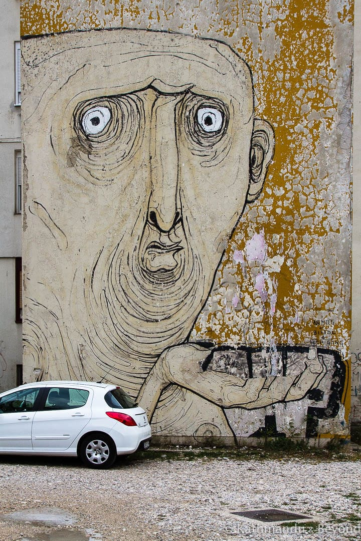 Street Art in Mostar Bosnia and Herzegovina