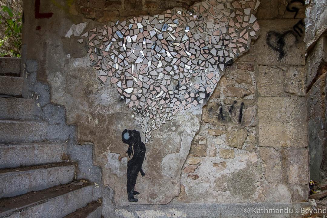 Street Art in Mostar Bosnia and Herzegovina