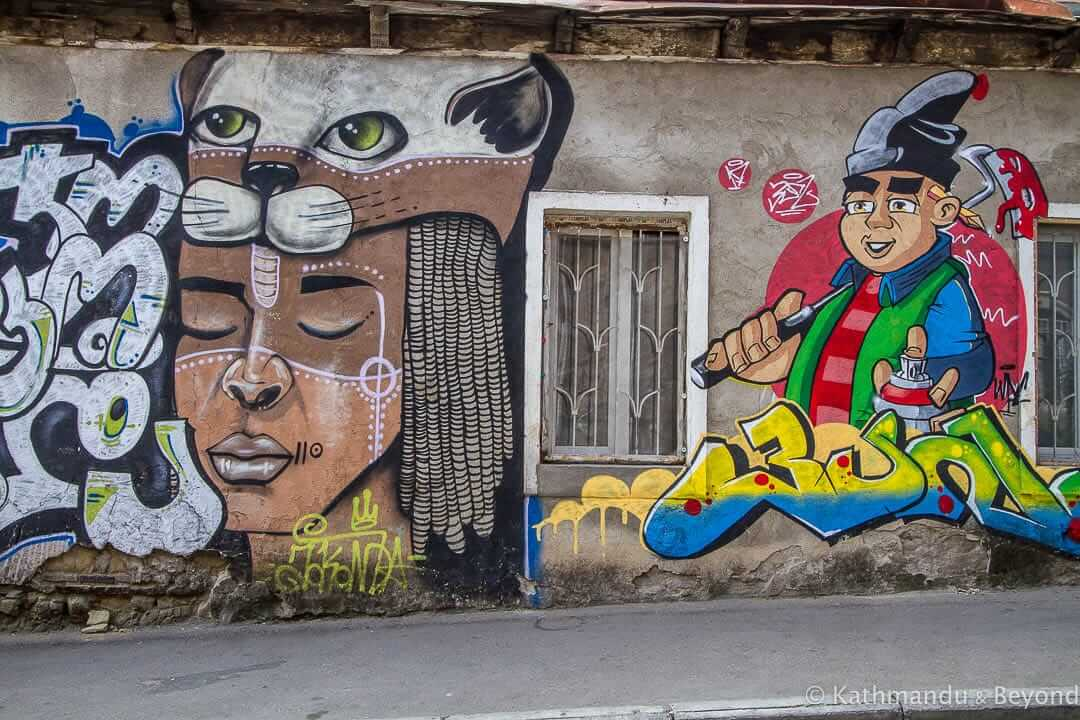 Street Art at Fabrika, Tbilisi, Georgia