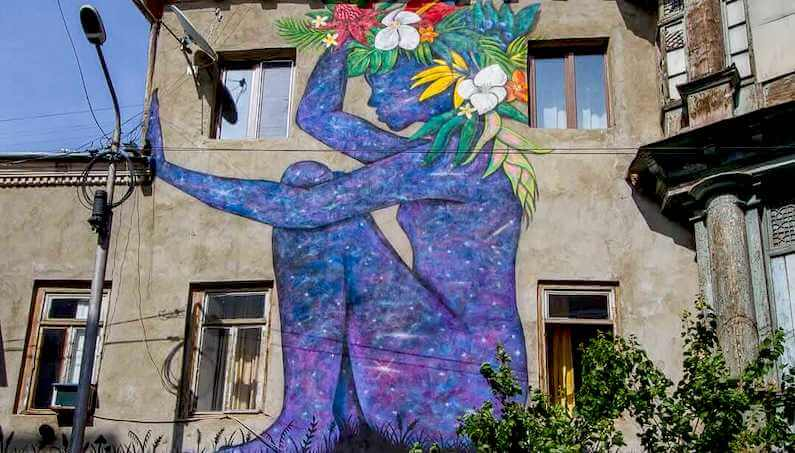 Where to find the best street art in Tbilisi, Georgia