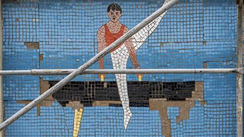 In photos: Soviet Mosaics at the Youth Sports School in Sucleia, Transnistria