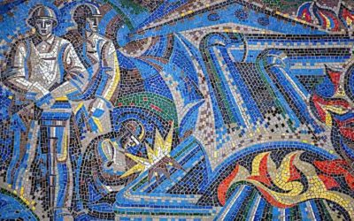 In photos: Twenty-five examples of Soviet mosaics in the former USSR