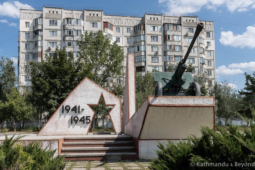 Monument to the Liberation of Cahul (World War II Memorial) in Cahul, Moldova | War memorial | Soviet monument | former USSR