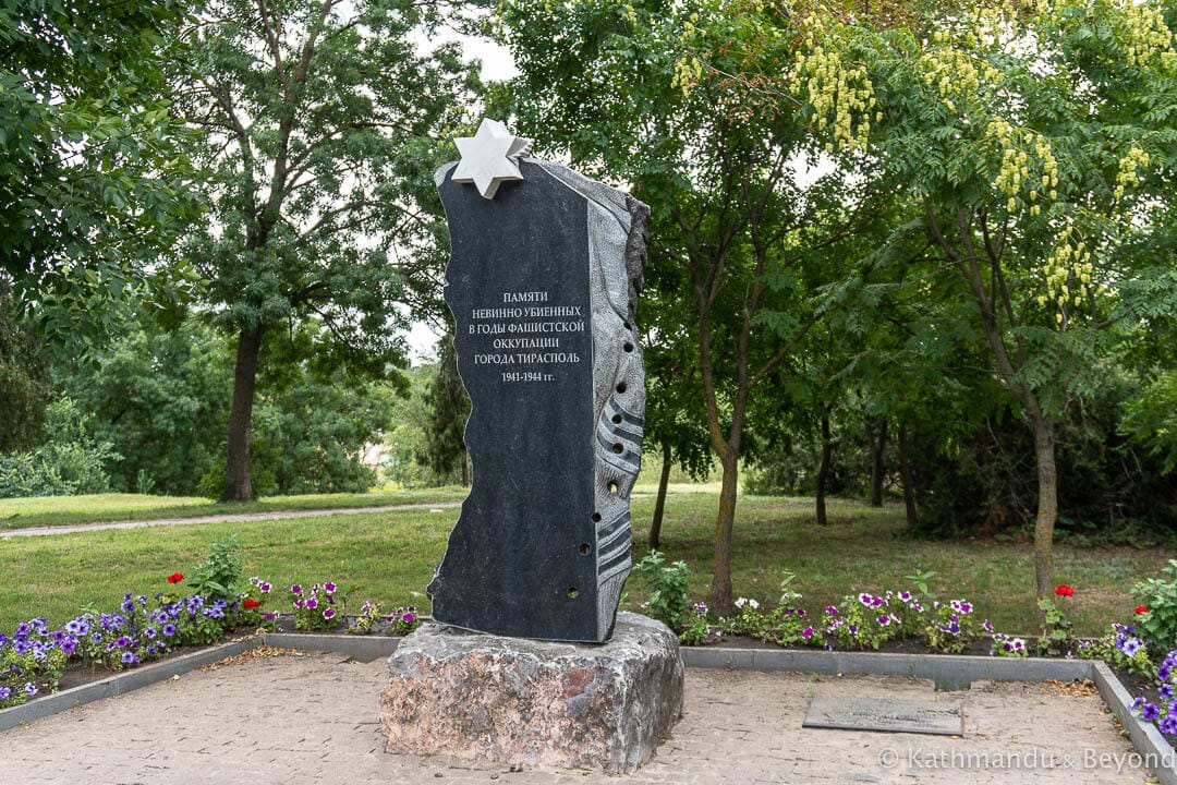 Monument to those killed during the Fascist Occupation Tiraspol Transnistria