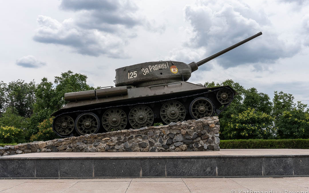 T-34 Tank, Memorial Complex of Glory