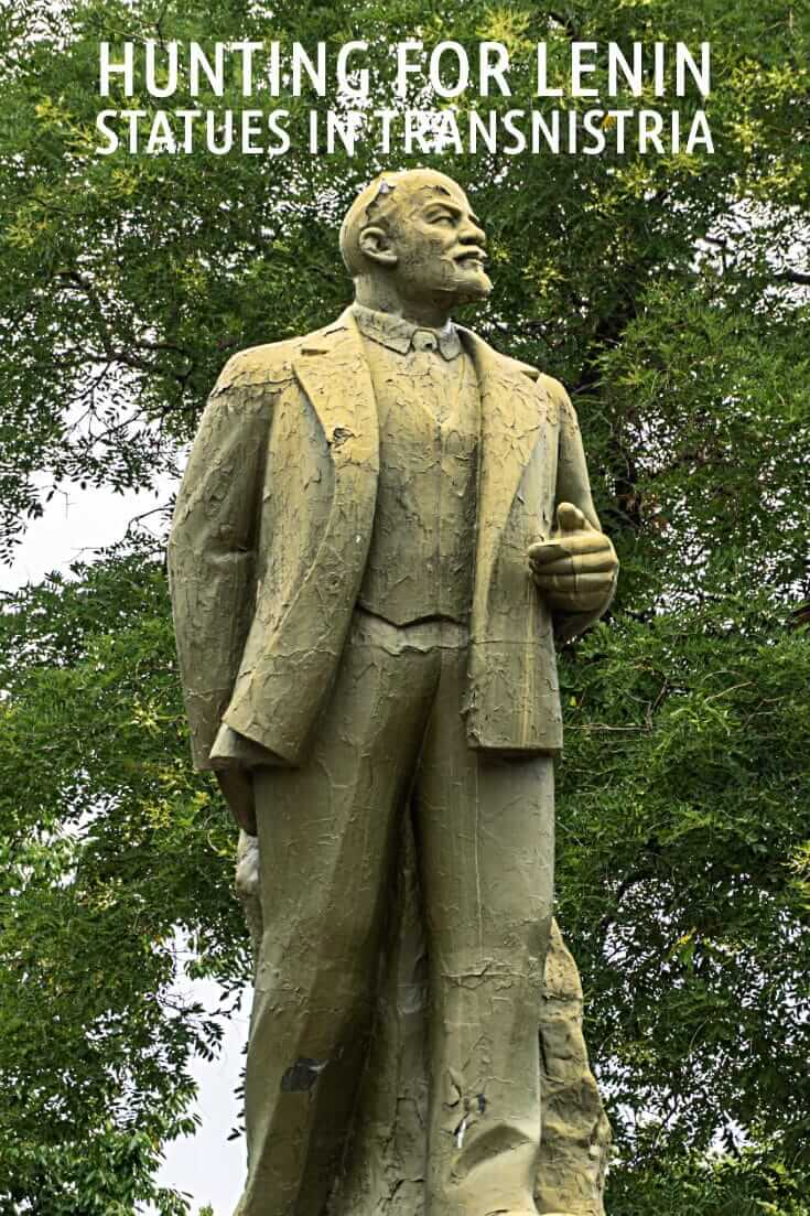 Visiting a country that doesn't exist - What to see on a 10-hour visa in Transnistria #travel #offthebeatenpath #moldova #europe #formerUSSR #Tiraspol #Bendery #Lenin