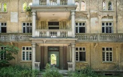 "Abandoned Bulgaria: The former summer villa of Pencho Semov, Bulgaria's ""Rockefeller"""