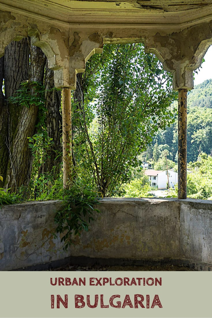 "Abandoned places in Bulgaria_ The former summer villa of Pencho Semov, Bulgaria's ""Rockefeller"" #balkans #urbex #abandonedplaces #urbanexploration #europe"