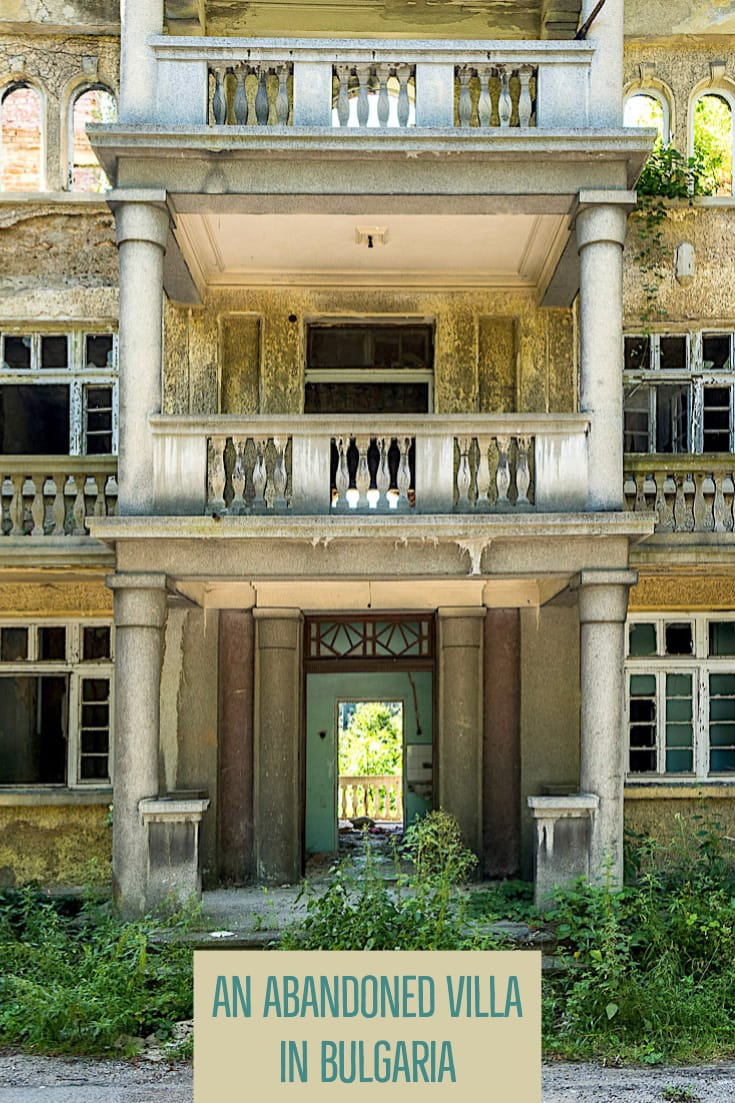 "Abandoned places in Bulgaria_ The former summer villa of Pencho Semov, Bulgaria's ""Rockefeller"" #balkans #urbex #europe #abandonedplaces #urbanexploration"