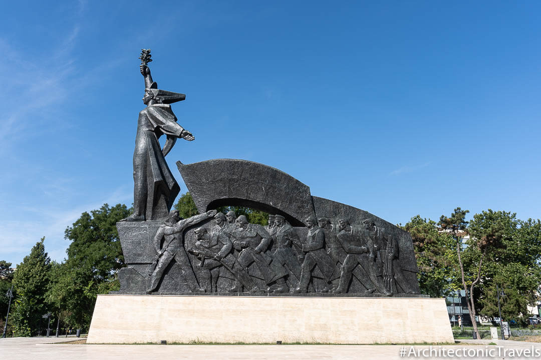 Monument to Victory in Constanţa, Romania | War memorial | Socialist monument | former Eastern Bloc
