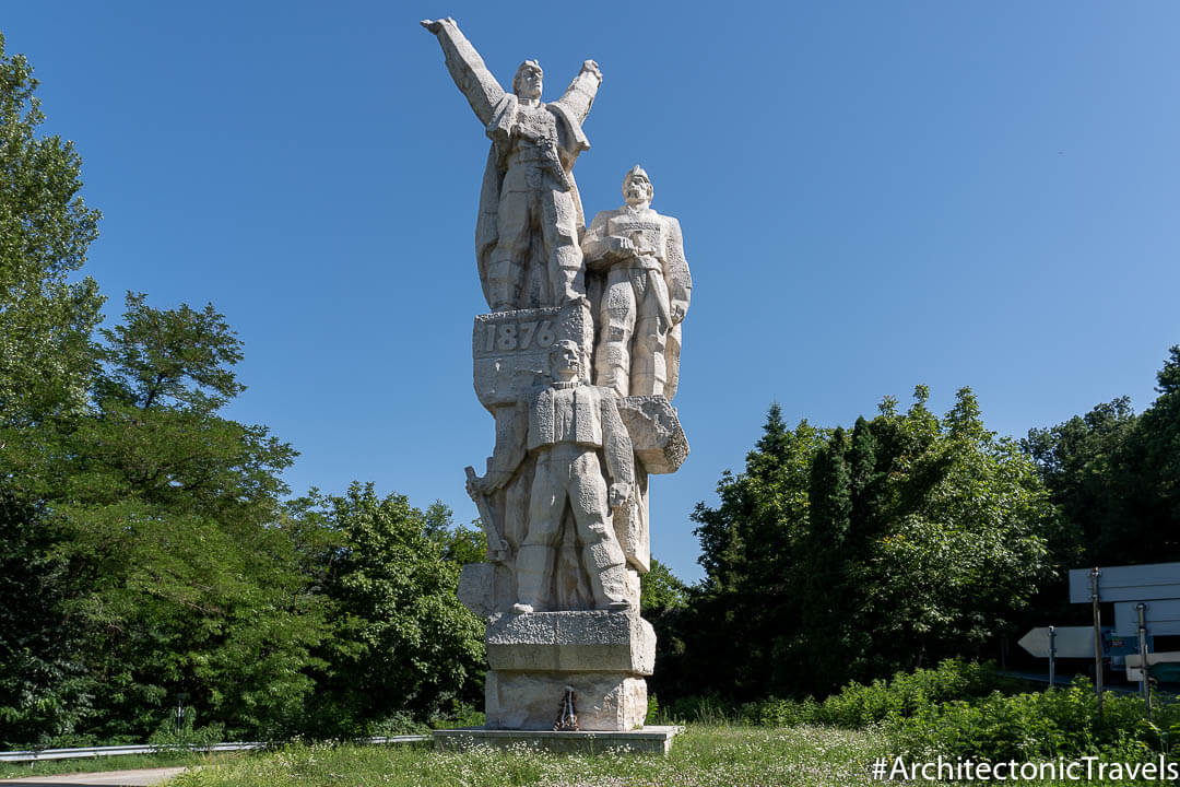 Monument to the 1876 Uprising Dryanovo Bulgaria - One of the most impressive communist monuments in Bulgaria