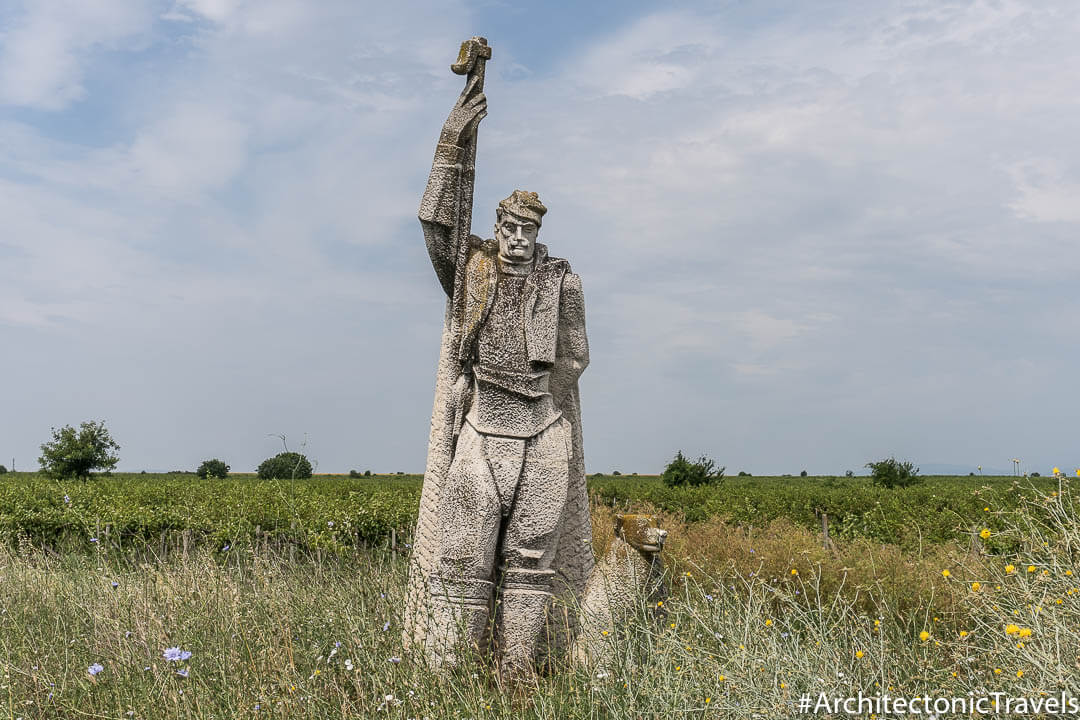 Monument to the Shepherd in Zimnitsa, Bulgaria | Socialist monument | former Eastern Bloc