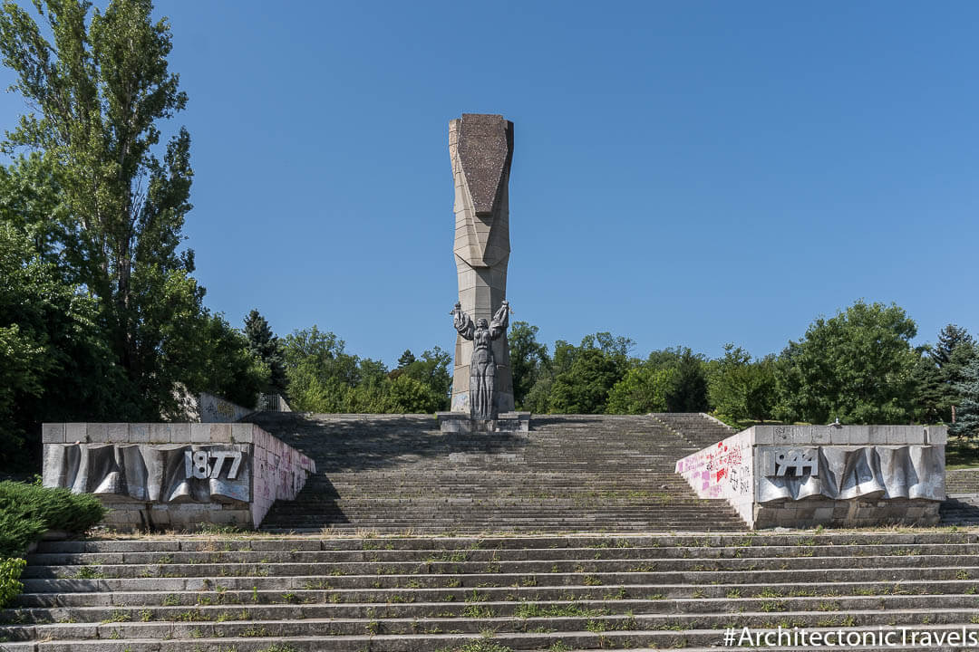 Mother Bulgaria Monument Pleven Bulgaria-4