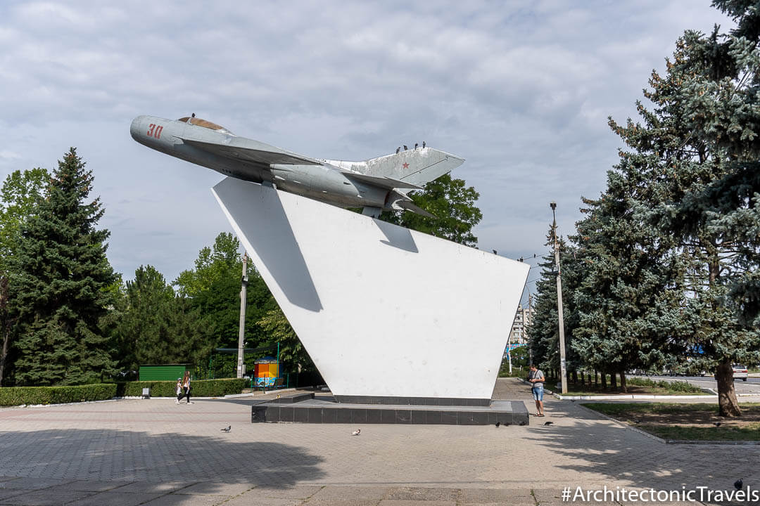 Monument to Warriors-Aviators Tiraspol Transnistria