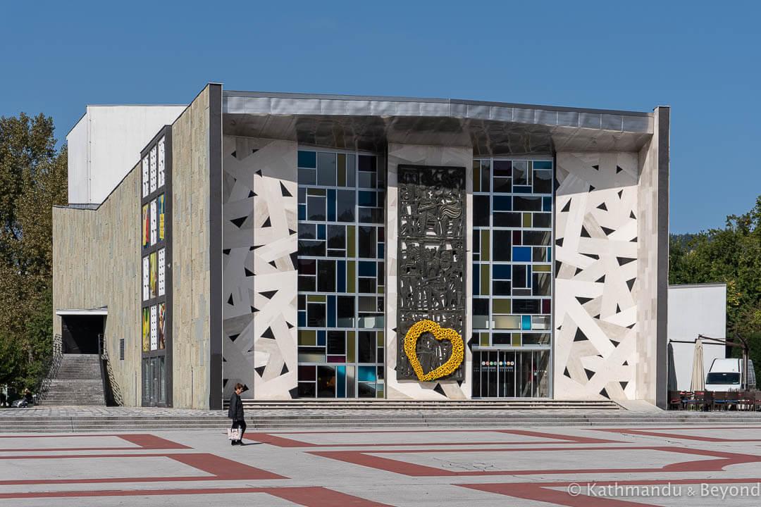 Cultural Centre Tito Square Velenje Slovenia-4
