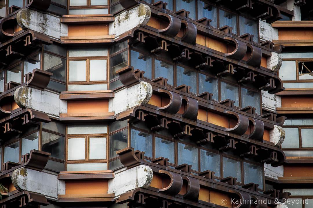 Bankosi i Ri in Peja Kosovo Modernist | Socialist architecture | former Yugoslavia