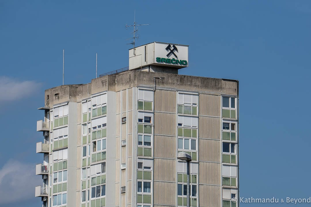 Miners' Tower Block Tito Square Velenje Slovenia
