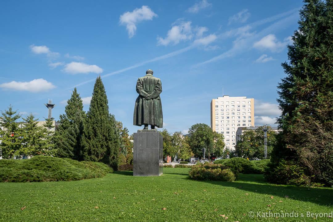 Monument to Josip Broz Tito Tito Square Velenje Slovenia-7