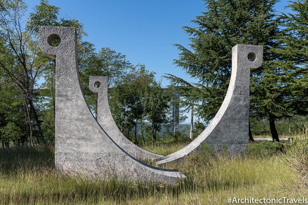 Monument to the Liberation War and to Victims of Fascist Violence (Monument to the Overseas Brigade) Crni Kal Slovenia