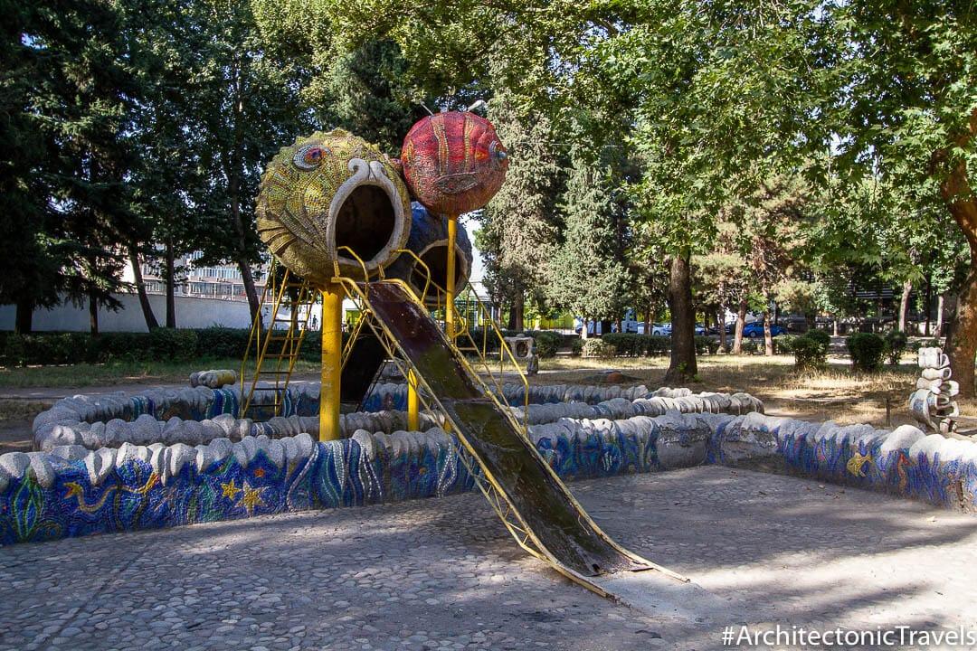 Children's Park Dushanbe Tajikistan