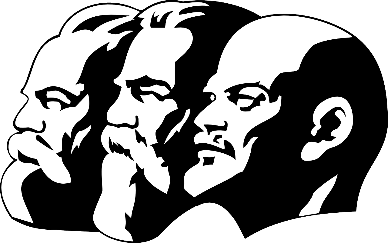 Lenin, Marx and Engels - A Short History of the Soviet Union from 1917 to 1991