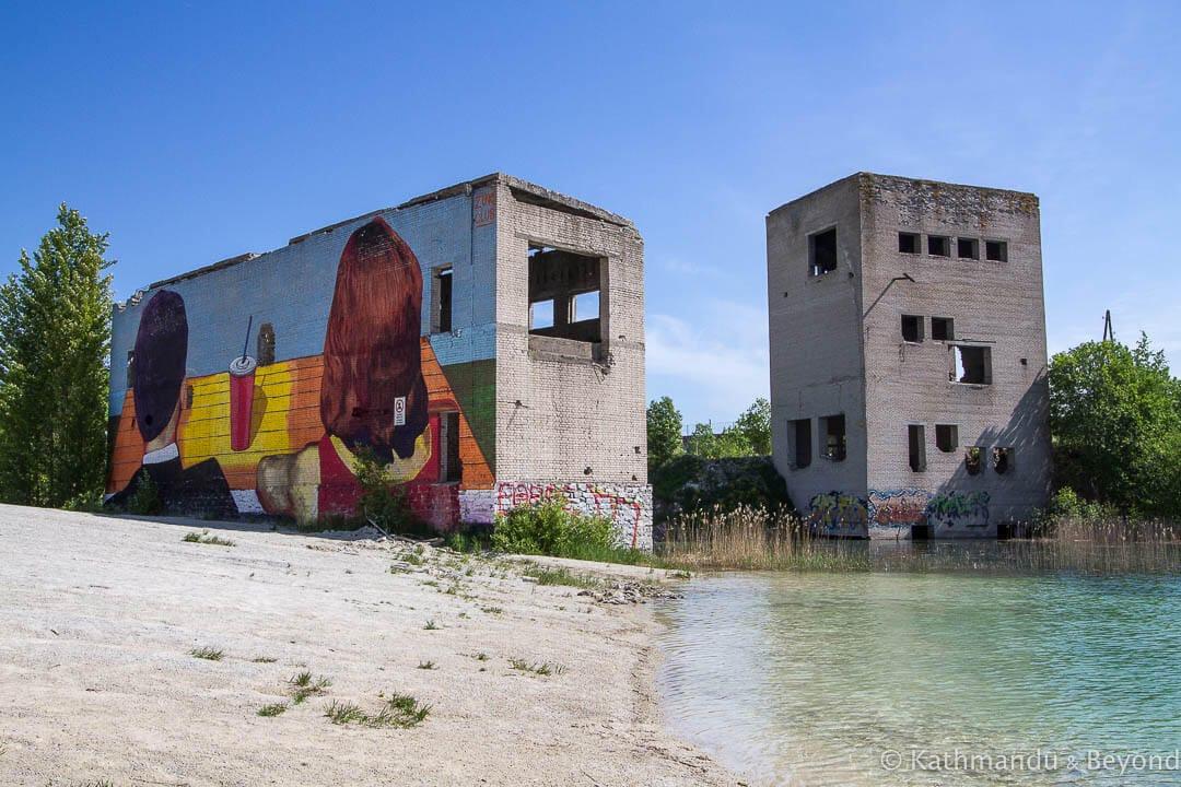 Rummu Quarry (Rummu Underwater Prison) Rummu Estonia-4