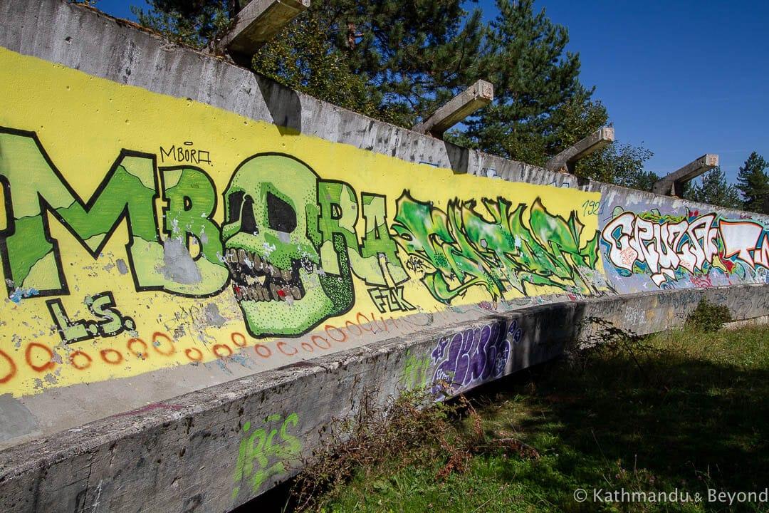Sarajevo Olympic Bobsleigh and Luge Track Mount Trebevic Sarajevo Bosnia and Herzegovina-3