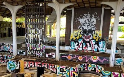 In Photos: Street Art in Abandoned Buildings