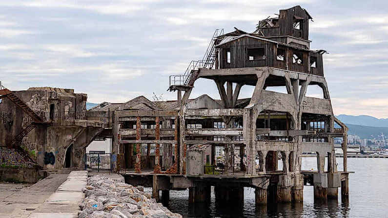 Abandoned Croatia - Former Torpedo Launch Station in Rijeka