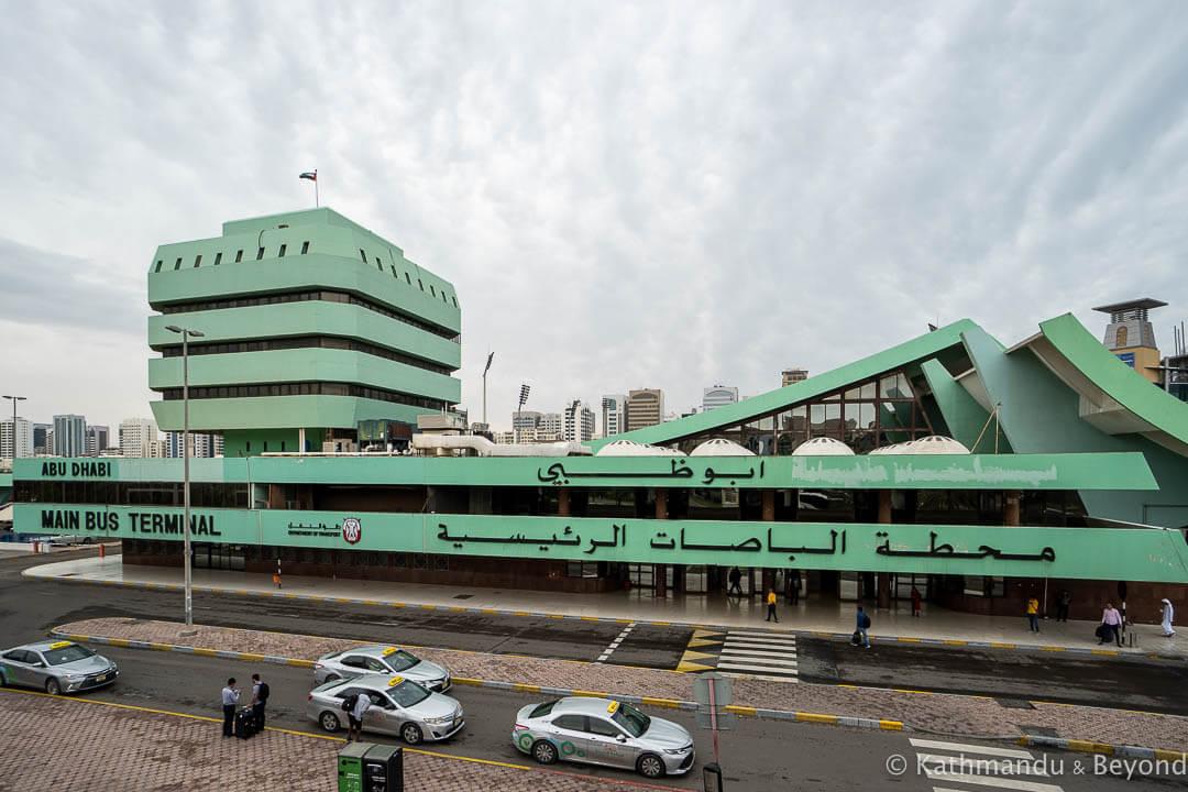 Abu Dhabi Central Bus Station Abu Dhabi United Arab Emirates-34