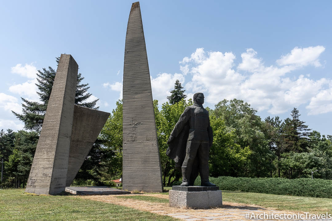 Monument to the Dead in the Fatherland War Dobrich Bulgaria