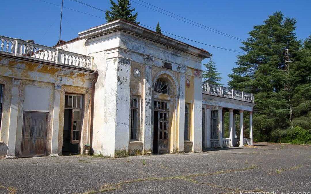 Bzypta Railway Station