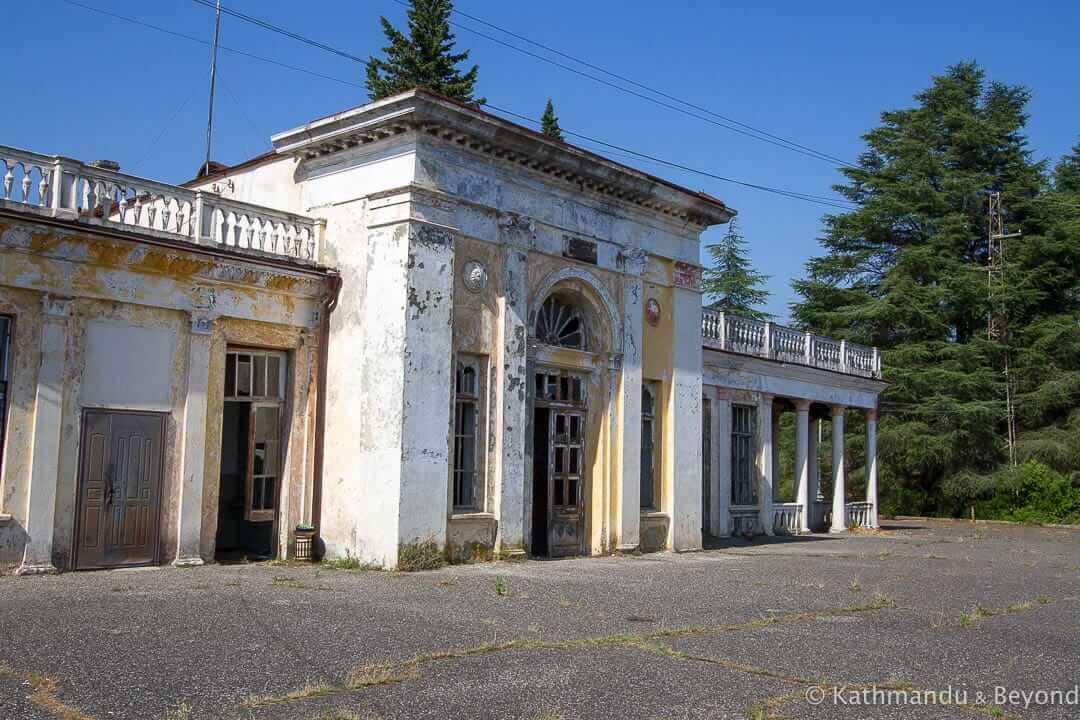 Bzypta Railway Station Bzypta Abkhazia-2