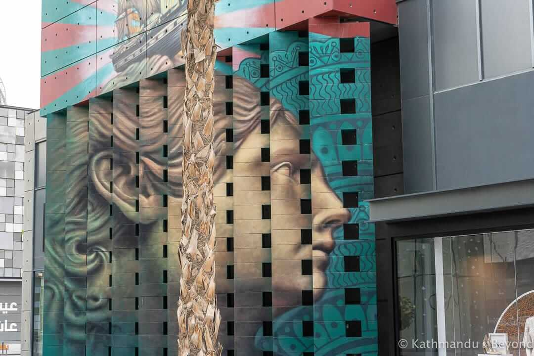 Dubai Lenticular Mural by Beau Stanton City Walk Street Art Dubai, United Arab Emirates 1