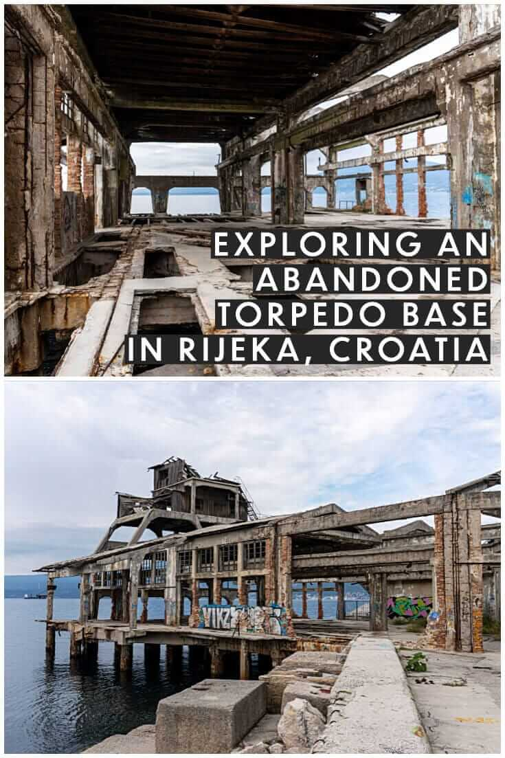 Exploring an abandoned torpedo launch station in Rijeka, Croatia #travel #offthebeatenpath #europe #abandonedplaces #urbex