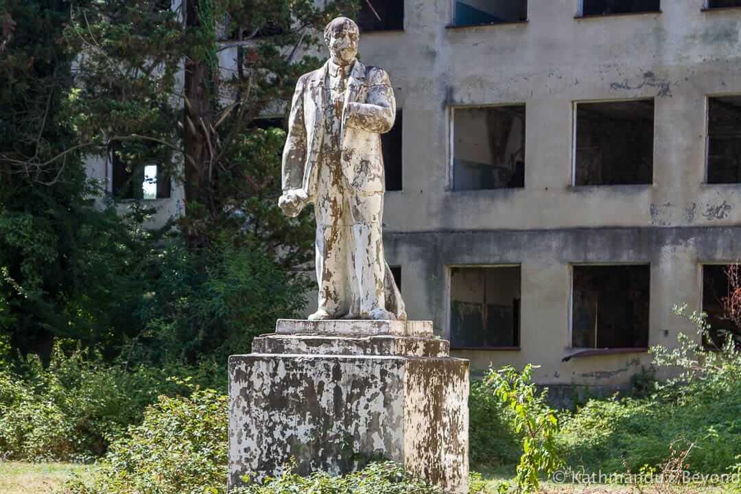 Former School Bzypta Abkhazia-12