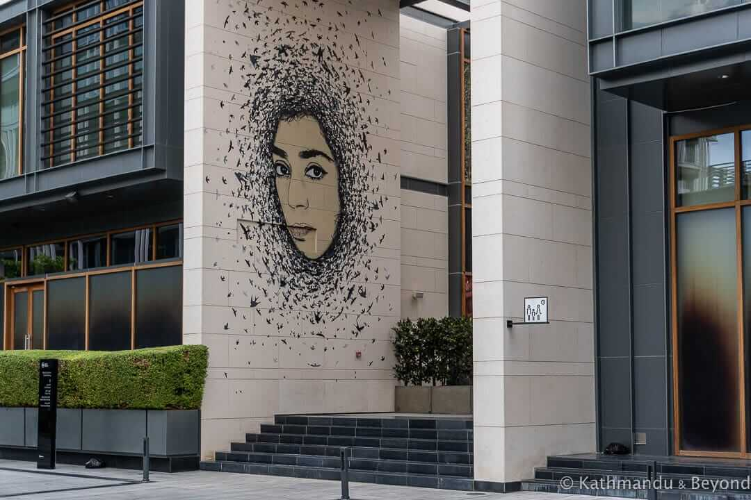 Let her be Free by ICY and SOT City Walk Street Art Dubai, United Arab Emirates 1