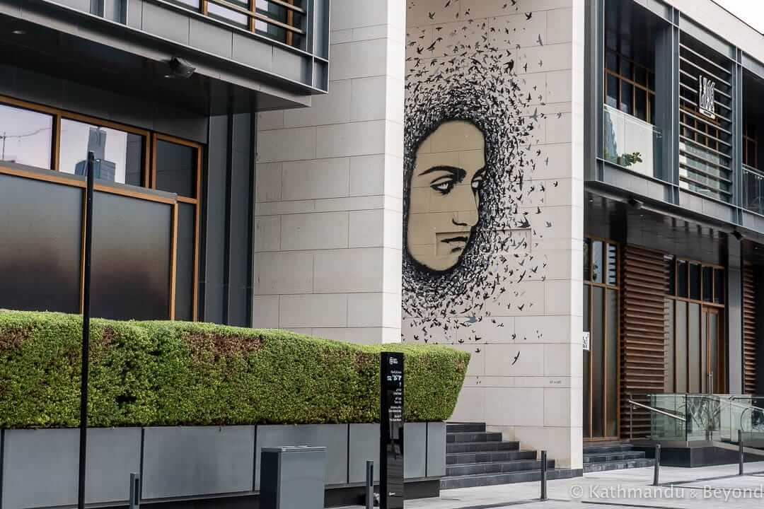 Let her be Free by ICY and SOT City Walk Street Art Dubai, United Arab Emirates